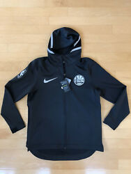 Golden State Warriors Nike Pe Therma Flex Showtime Full Zip Hoodie Size Xl