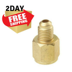 HVAC Refrigerant Tank Adapter R134A Connects R12 Hose 12
