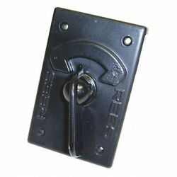 REES 1774000 Rotary Contact Selector Switches,Blk