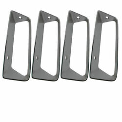 1969 Side Louver Insert. Lh 4pc Set - Import - Replacement - X2421