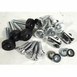 1970 - 1973 Corvette Seat Hardware Repair Kit With Buttons - 18 Piece