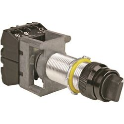 New Hubbell Killark Go27-6g 3 Position Selector Switch Spring Return 2no Cont