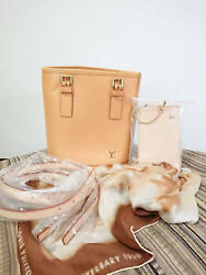 Louis Vuitton 20th Anniversary Nume leather bucket bag from japan (7738