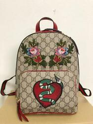 Limited Gucci 2016 holiday collection Luc GG Supreme from japan (7815