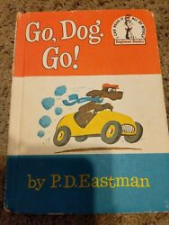 Go Dog. Go! Vintage HBDJ Early Printing PD Eastman