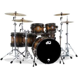 DW Collectors Limited Edition Tasmanian Timber 6pc Drum Set