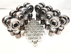 1 1/4 4link Kit Hex Bungs With High Misalignment Spacers 1.25 Heim Joint 8l+8r