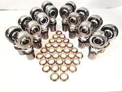 1 1/4 4link Kit Hex Bungs With Rod End Spacers 1.25 Heim Joint 8l+8r