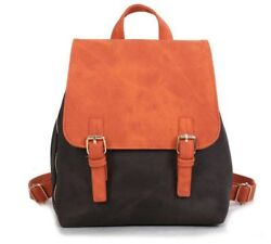 Women's Small Leather Backpacks Cute School Shoulder Bags for Teen Girls 4 Color