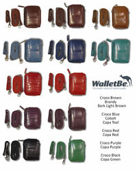 1400 WOMENS ITALIAN LEATHER WALLETS WHOLESALE STORE RESELLERS LOT $14000 value!