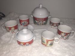 Campbells Collectable Soup Bowls And Coffe Cups