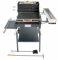 Cruccolini S.n.c. Ba87 Barbecue Grill Ghiottone Grill. Wood And Charcoal