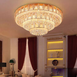 Modern luxury LED Crystal Ceiling Fixture Lamps Chandelier LED Lighting Lights