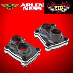 Arlen Ness 10-gauge Lifter Block Cover Black For Harley Milwaukee-eightandtrade 12-583