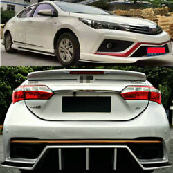 Corolla Bodykit front & rear bumper + side skirts for Toyota Corolla 2014-2017