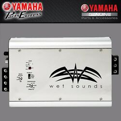 New Syndicate Amplifiers By Wet Soundsandtrade Yamaha Boats 2-channel Sbt-syn20-00-13