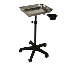 Inkbed Tattoo Stainless Steel Tray Removable Utility Cup Ink Bed Salon Equipment