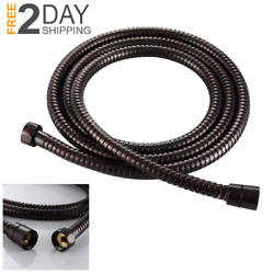 79 Extra Long Oil Rubbed Bronze Shower Hose Stainless Steel Handheld Extension