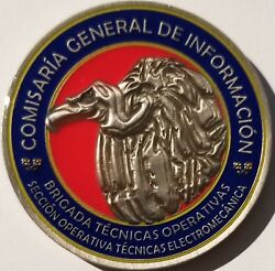 Spanish National Police General Info Office Operational Techniques Brigade