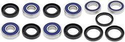All Bearing Kit For Front And Rear Wheels Cxl-150 W/front Disc Brakes All