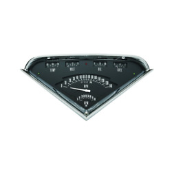 Chevrolet Chevy Pick Up Truck Black Tach Force Package Gauge 1955 - 1959