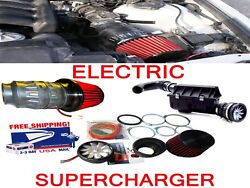 Fit For Dodge Hemi Performance Electric Air Intake Supercharger Fan Motor Kit