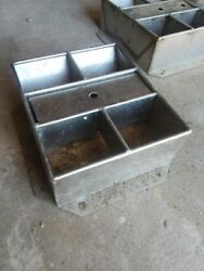 Livestock Hog Water Stainless Steel Automatic Tank Trough Waterer Goat Sheep