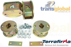 Land Rover Discovery 2 Front And Rear Spring 2 Spacer Lift Kit Terrafirma Tf525/6