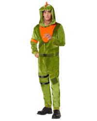 Fortnite Rex Halloween Costume Adult Size Large/xlarge In Hand Ready To Ship