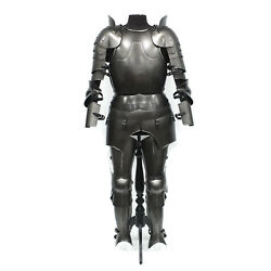 Larp Armour Medieval Classic Milanese Armor Set Sca Lrp Theatrical