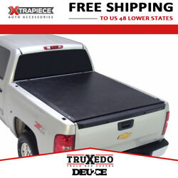 Truxedo Deuce Tonneau Cover 2in1 Fit 07-13 Chevy Silverado 1500 8and039 Bed W/ Track