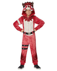 Fortnite Tricera Ops Costume Kids Boy Girl Size Md/xl Halloween Ships Today New