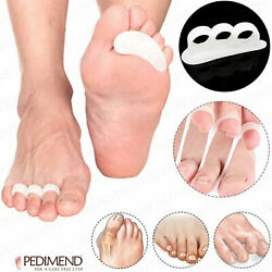 Pedimend Silicone Gel Hammer Toe Straightener For Curled Toes Or Bent Toes - Uk