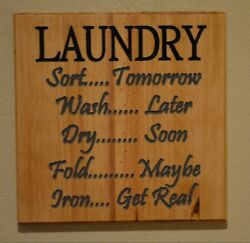 Laundry Room Sign Funny Signs Custom Sign Funny Gift Laundry Room Decor