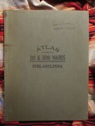 2 Atlas Of The 1st And 39th Wards Philadelphia 1931