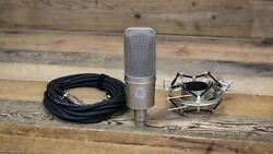 Audio-Technica AT4047SV Condenser Microphone wShock Mount & Cable U107715