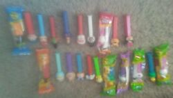 Pez Lot Collectible New And Used 21