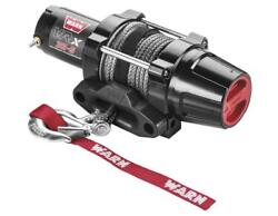 Warn Vrx 3500lb Winch With Syn Rope And Mount - 2009 Polaris Ranger Xp 700 Le