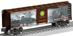 Lionel Smithsonian Historic Trains John Bull Boxcar 6-83918 Made In Usa