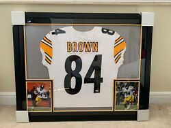 Antonio Brown Signed Steelers Jersey Framed - Fanatics Authentic