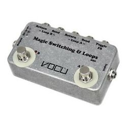 VOCU Magic Switching & Loops System Guitar Effect Foot Pedal