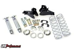 64-72 Gm A-body Rear Coilover Kit 110 Spring Rate Control Arm Relocation Bolt In