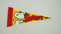 Snoopy Wincraft Pennant Happy Snoopy Dancing 10 Long
