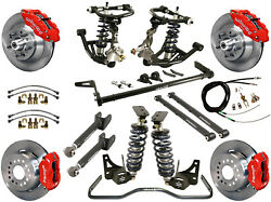 RIDETECH COILOVER,ARM SYSTEM & WILWOOD DISC BRAKE KIT,13