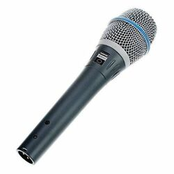NEW Shure BETA87C Cardioid Condenser Microphone for Handheld Vocal Applications