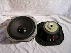 2 X Vintage Cast Basket 10 Inch Woofers Low Frequency Bass Drivers