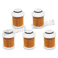 5x Gas Fuel Filter Cartridge Element For Outboard Yamaha 40-50hp 6d8-ws24a-00-00