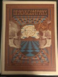 Dead And Company Show Poster Gorge George Wa 6/28/18 Signed And Numberedandnbsp