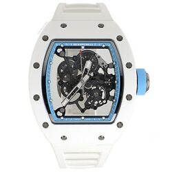 Richard Mille RM 055 Bubba Watson Asia Edition Ceramic Rubber Manual Wind Watch