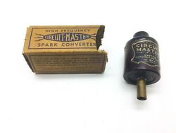 Nos Vintage Circuit Master High Frequency Spark Converter Accessory 6 Or 12 Volt